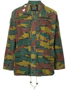 камуфляжная куртка в стиле милитари Icons