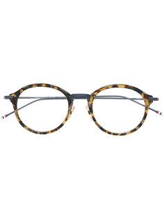 очки в круглой оправе Thom Browne Eyewear