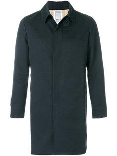 однобортное пальто Limpermeabile