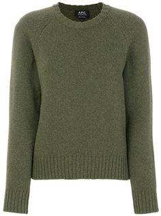 классический свитер A.P.C.