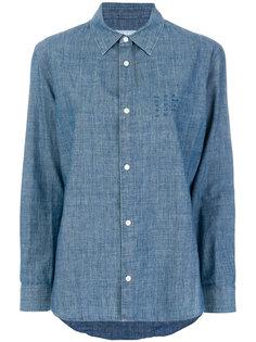 классическая джинсовая рубашка A.P.C.