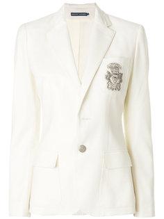 блейзер с вышивкой Polo Ralph Lauren