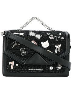 сумка на плечо Klassik Pins Karl Lagerfeld