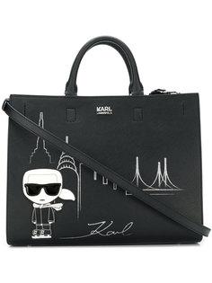 сумка-тоут NYC Karl Lagerfeld