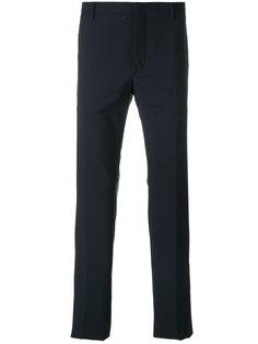 брюки узкого кроя Prada
