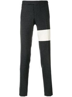 классические брюки с контрастной полосой Thom Browne