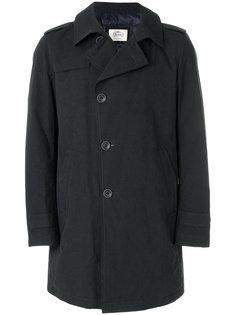 удлиненное пальто на пуговицах Herno