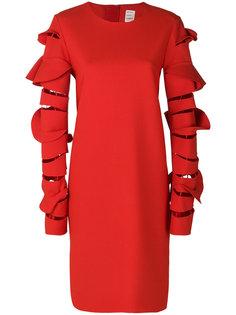 платье со стилизованными рукавами Maison Rabih Kayrouz