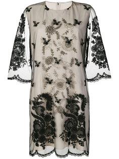 платье с вышивкой Stella McCartney