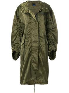 пальто на молнии в стиле милитари Sjyp