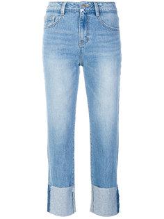 джинсы с подворотами Sjyp