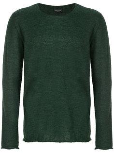 свитер с круглым вырезом Roberto Collina
