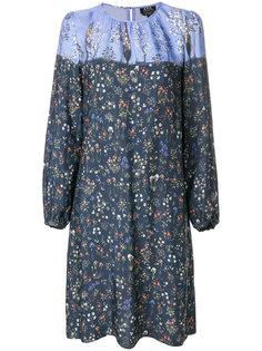 платье с цветочным принтом A.P.C.