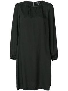 платье шифт A.P.C.