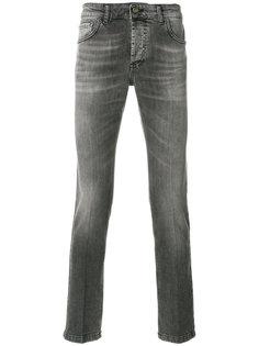 джинсы кроя слим с потертой отделкой Entre Amis