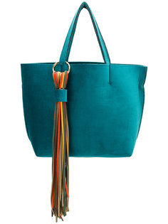 большая сумка-тоут с кисточками Alila