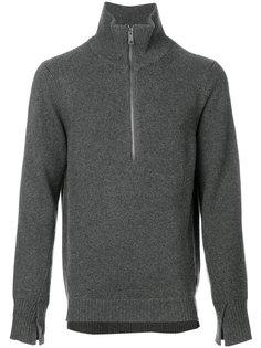 свитер с вырезом на молнии Burberry