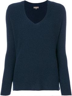 свитер с V-образным вырезом N.Peal