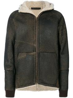 куртка с подкладкой из цигейки  Salvatore Santoro