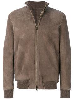 куртка-бомбер на молнии  Salvatore Santoro