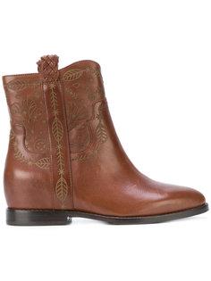 ботинки с тиснением Ash