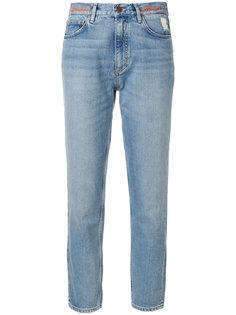 джинсы Mimi Jean с вышивкой  Mih Jeans