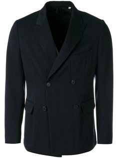 двубортная куртка на пуговицах Kent & Curwen