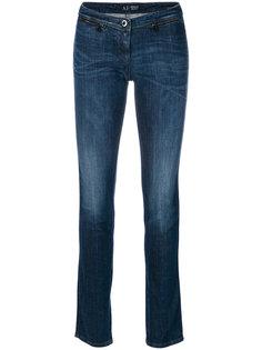 джинсы скинни с выцветшим эффектом Armani Jeans