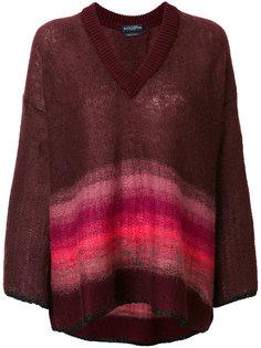 объемный свитер в полоску Ballantyne