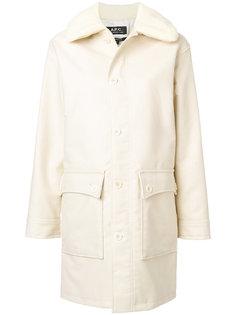пальто Boreale A.P.C.
