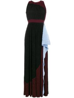 плиссированное платье-макси Milda  Roksanda