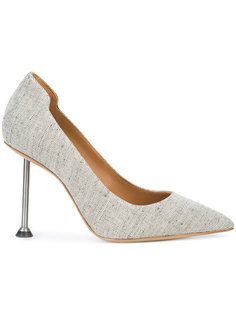 туфли на резном каблуке Victoria Beckham