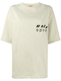 свободная футболка с логотипом  Yeezy