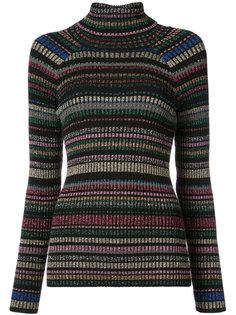 полосатый свитер с блестками Milly