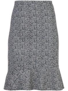 облегающая юбка с принтом Marc Cain