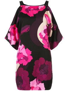 платье с цветочным принтом Trina Turk