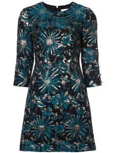 жаккардовое платье с цветочным рисунком Trina Turk