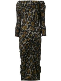 брюки с леопардовым принтом  Vivienne Westwood Anglomania