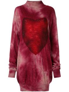 платье-свитер с принтом тай-дай Vivienne Westwood Anglomania