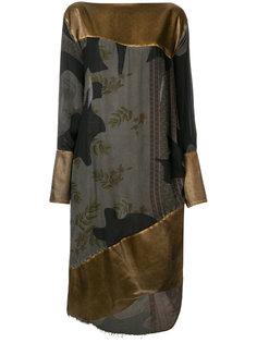асимметричное платье с драпировкой  Vivienne Westwood Anglomania