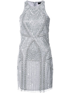 beaded mini dress Aidan Mattox