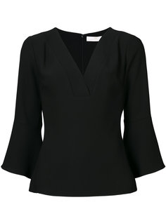 v-neck blouse  Amanda Uprichard