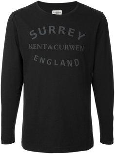 футболка с графическим принтом Kent & Curwen