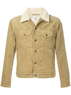короткая куртка с меховым воротником  Kent & Curwen