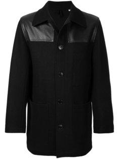 пальто на пуговицах Kent & Curwen