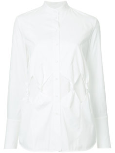 """рубашка с воротником """"мандарин"""" Victoria Victoria Beckham"""
