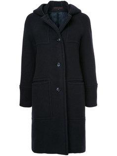однобортное пальто Martin Grant