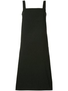 платье-передник в тонкую полоску G.V.G.V.