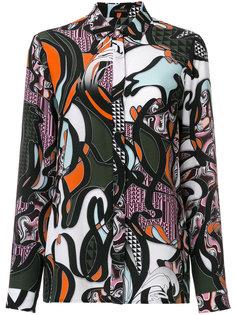 рубашка с принтом Baroccoflage Versace