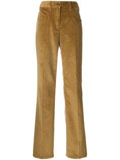 широкие вельветовые брюки Prada
